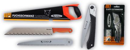 Messer und Sägen